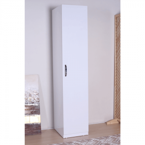 wardrobe 1 door white