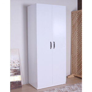 wardrobe 2 doors white