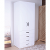 wardrobe 2 doors 4 drawers