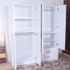 wardrobe 4 doors 2 drawers inside