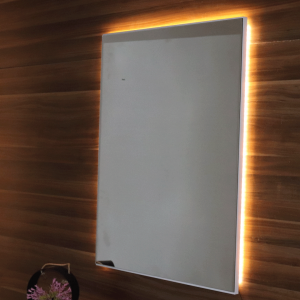 Mirror with LED guccamobilya