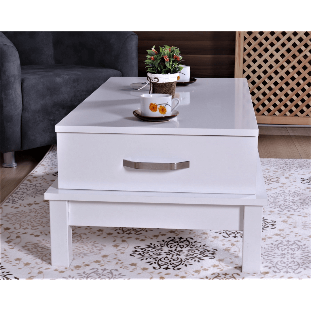 Coffee table with 2 drawers guccamobilya