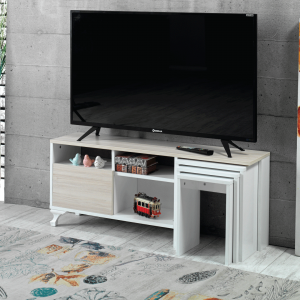 TV unit with 3 tables guccamobilya