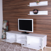 TV unit with 2 shelves guccamobilya